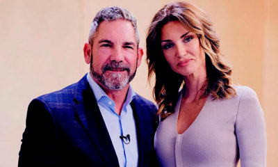 Grant Cardone with his wife Elena