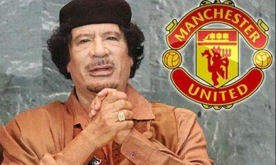 Gaddafi man united