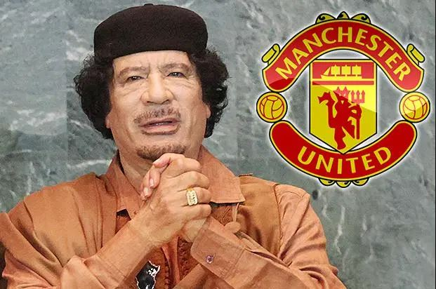 Gaddafi man united